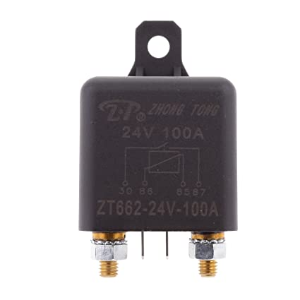Phenovo 4 Terminal Over 100A 24V Battery Isolator Relay On ... on