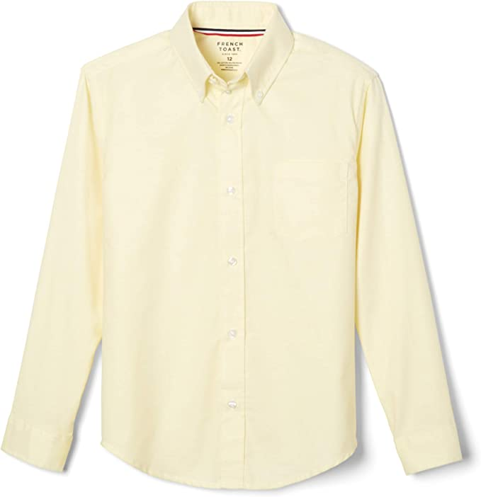 Standard /& Husky French Toast Boys Short Sleeve Oxford Dress Shirt