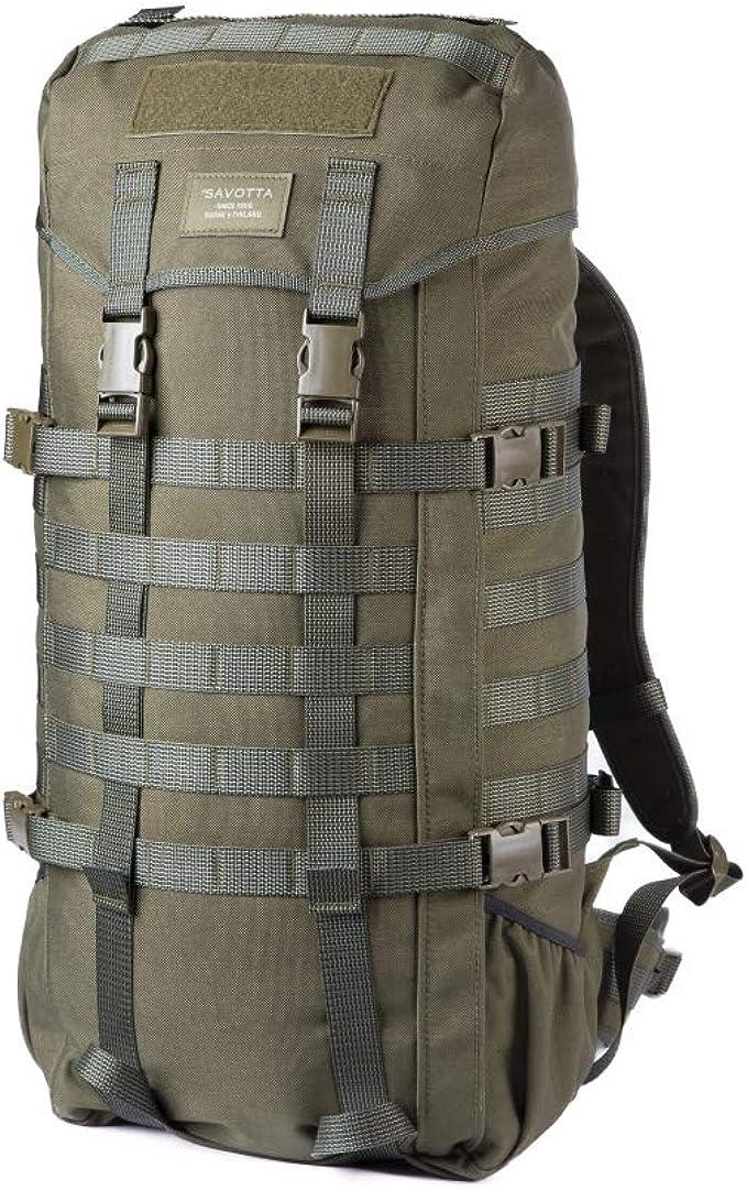 Savotta Jäger Rucksack II oliv Tagesrucksack Modular Molle Militär Wasserdicht