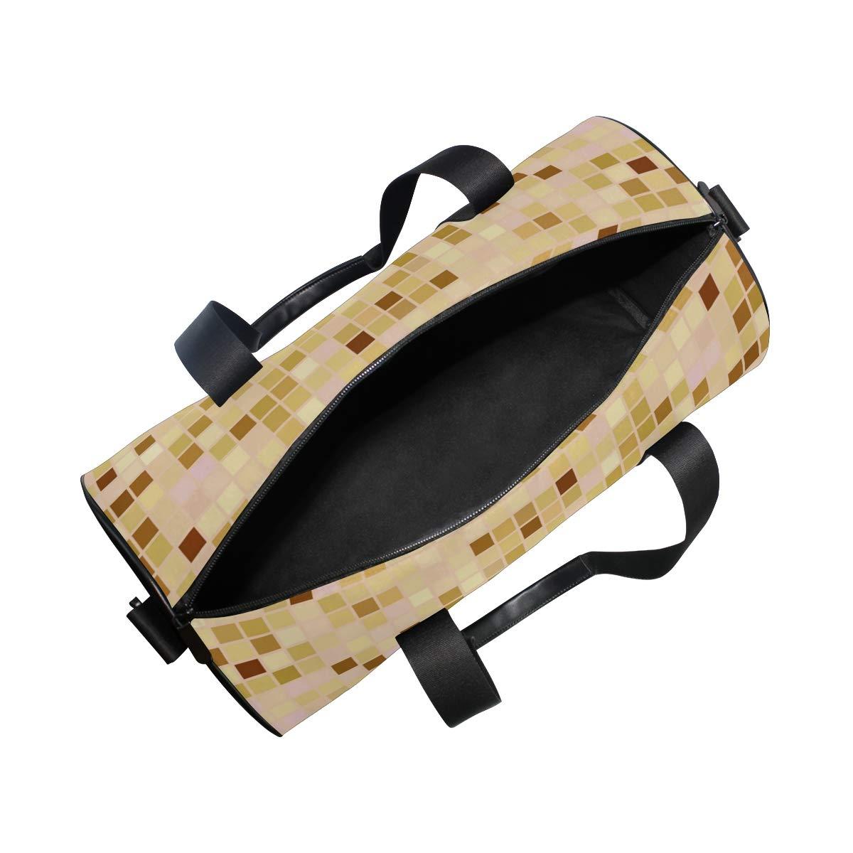 Beige Beautiful Ceramic PictureWaterproof Non-Slip Wearable Crossbody Bag fitness bag Shoulder Bag