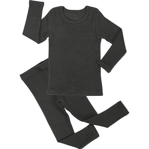 Ropa Bebe Niña Ropa Bebe Niña Invierno Ropa De Dormir para Niños Pequeños Bebés Niños Niñas De Manga Larga Sólidos Pantalones Pijamas: Amazon.es: Ropa y ...