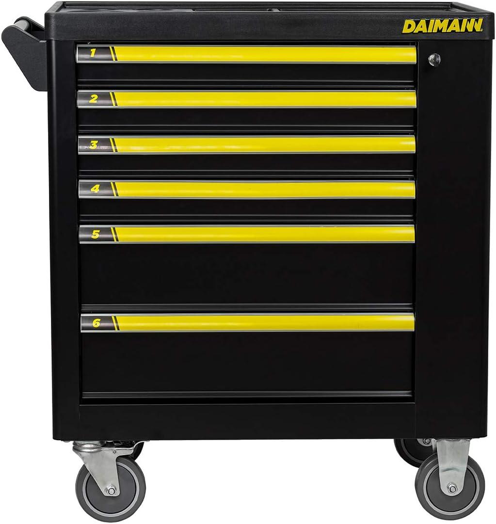 Carrello da officina Daimann con 155 utensili inclusi