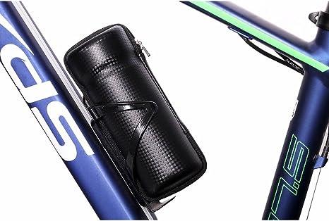 Cápsula negra para ciclismo, bolsa portaherramientas con ...