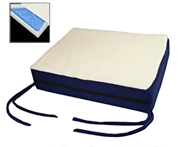 Premium Comfy Orthopedic Gel Memory Foam Seat Cushion Pad For Office Chair Car Wheelchair