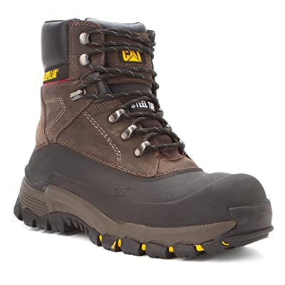 Caterpillar Men's Mens Flexshell Waterproof Steel Toe Work Boot: Shoes