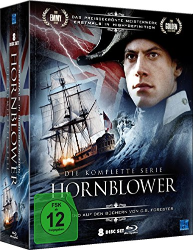 Hornblower - Complete Series - 8-DVD Box Set ( Hornblower: Loyalty / Hornblower: Duty / Hornblower: Mutiny / Hornblower: Retribution / Hornblower: T [ NON-USA FORMAT, Blu-Ray, Reg.B Import - Germany ]