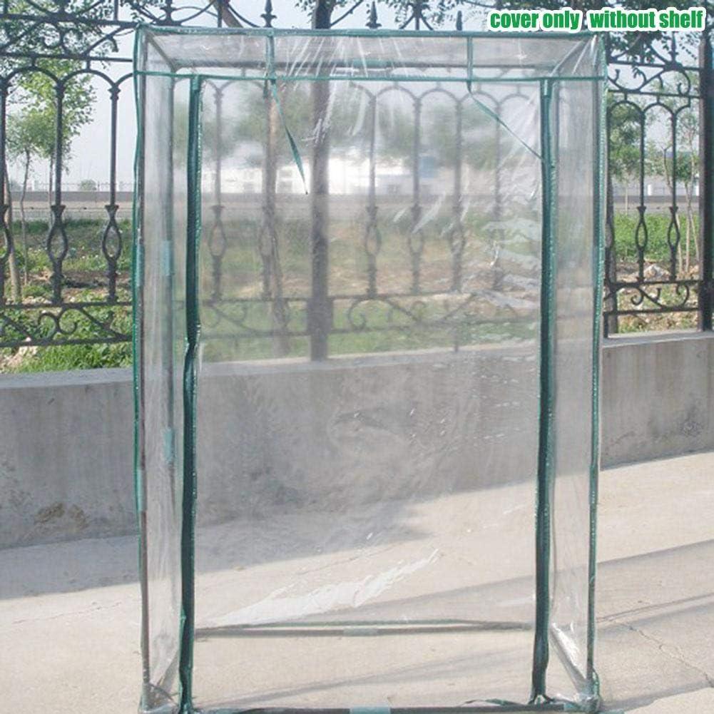29,37 19,69 59,06 Zoll ohne Halterung 100 50 150 cm Biggystar Gartengew/ächshaus Tomatengew/ächshaus PVC Pflanzenschutz