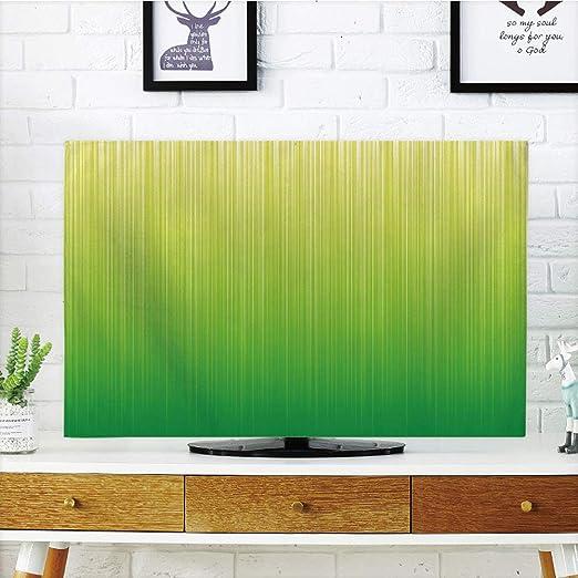 Funda para televisor LCD, color verde lima, pared pastel, fondo de ...