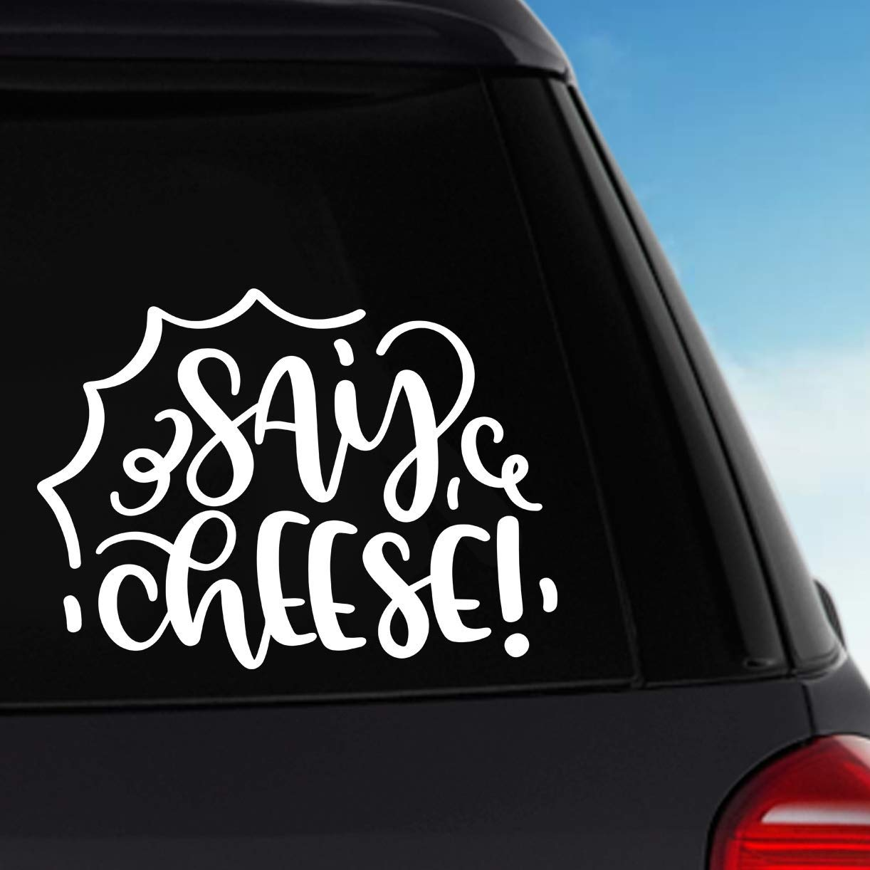 Laptop Decal Say Cheese Style 2 Vinyl Sticker Decal Car Decal