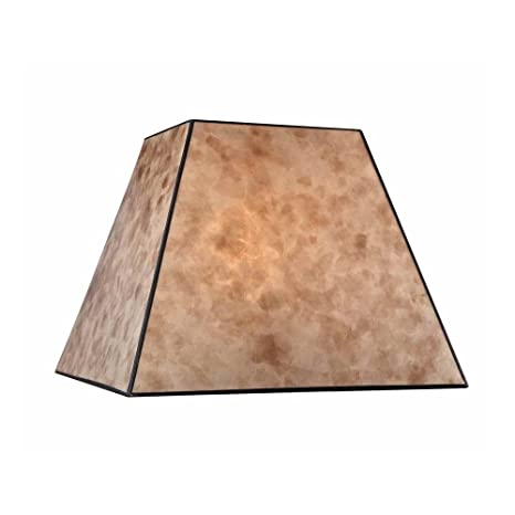 Captivating Square Mica Lamp Shade