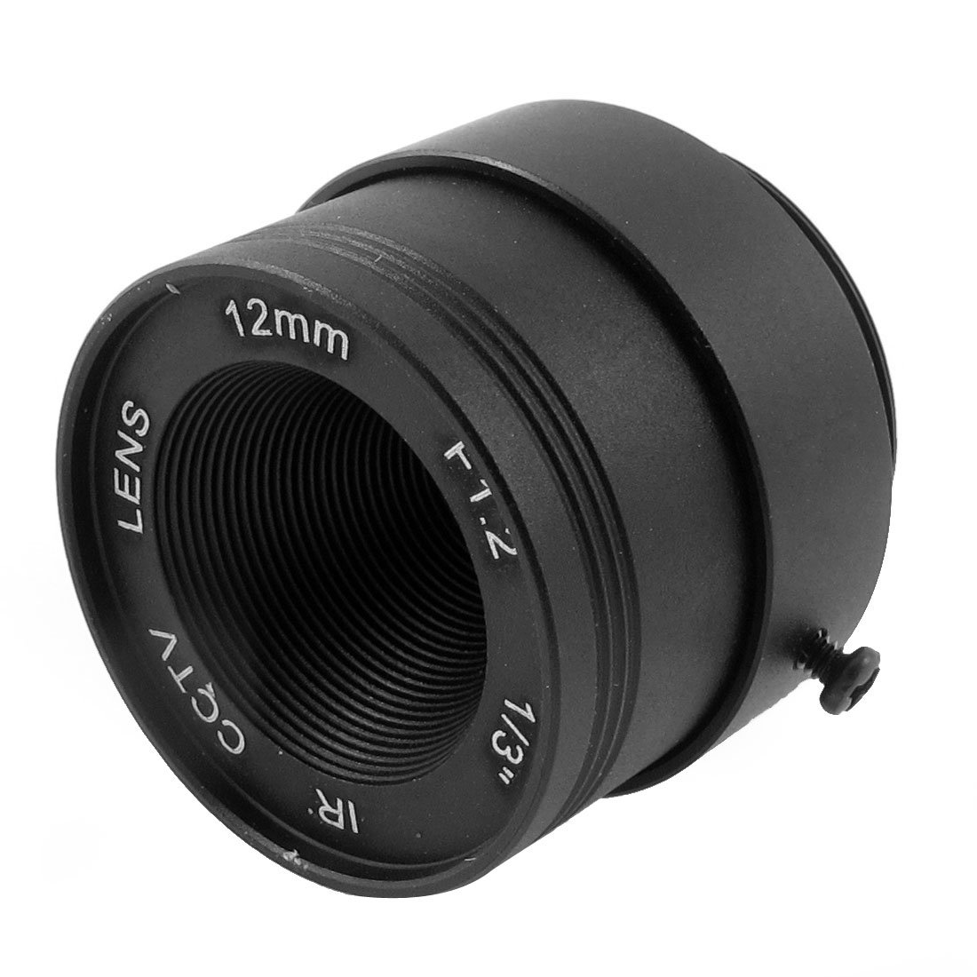 uxcell 12mm F1.2 1/3' CCTV IR Lens CS Mount for Security Dome Ip Camera a15031800ux0035