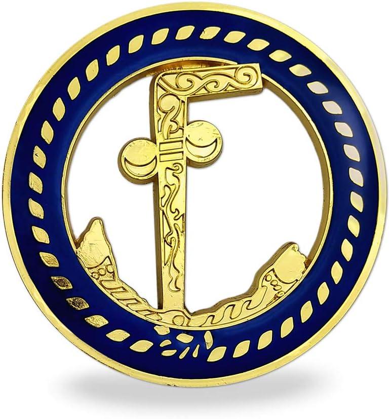Masonic Car Emblem Tubal Cain Auto Decal