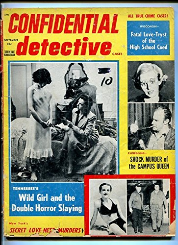 (EXPOSE DETECTIVE CASES-OCT. 1947-SUGAR DADDY-SLEUTHS-LOOTER-HORROR-DEATH VG)