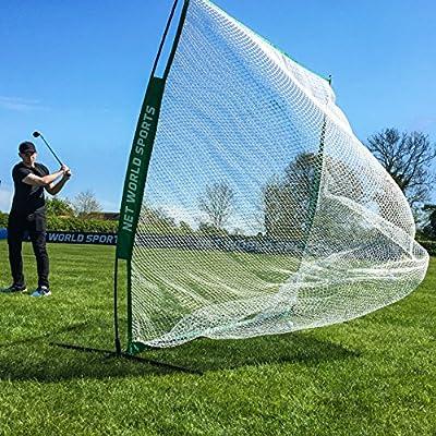 FORB Portable Golf Net 7ft x 7ft - Backyard & Outdoor Practice Hitting & Driving [Net World Sports]