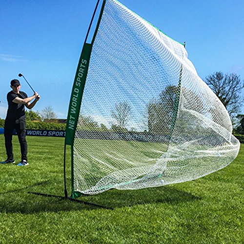 FORB Portable Golf Net 7ft x 7ft – Backyard & Outdoor Practice Hitting & Driving [Net World Sports]