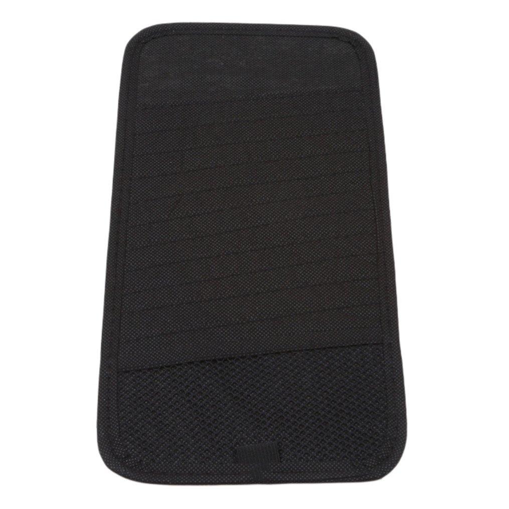 Edtoy Car Sun Visor CD Package Holder Multi-function Drivers License Cars Organizer gray