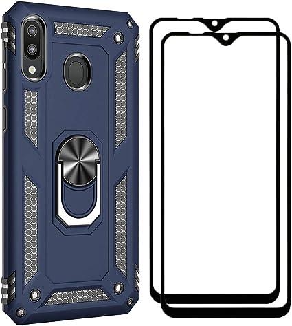 XIFAN Funda + [2 Pack] Cristal Vidrio Templado para Samsung Galaxy ...