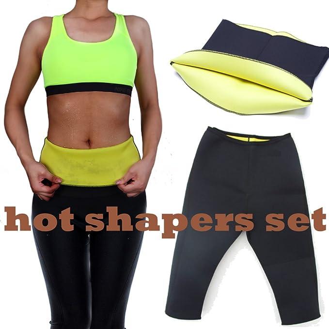 b03c5ce729 Lelinta Womens Slimming Pants Hot Thermo Neoprene Sweat Sauna Body ...