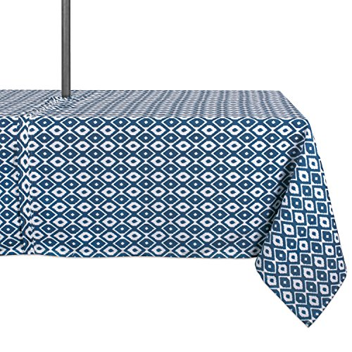 DII Polyester Washable Tablecloth Umbrella