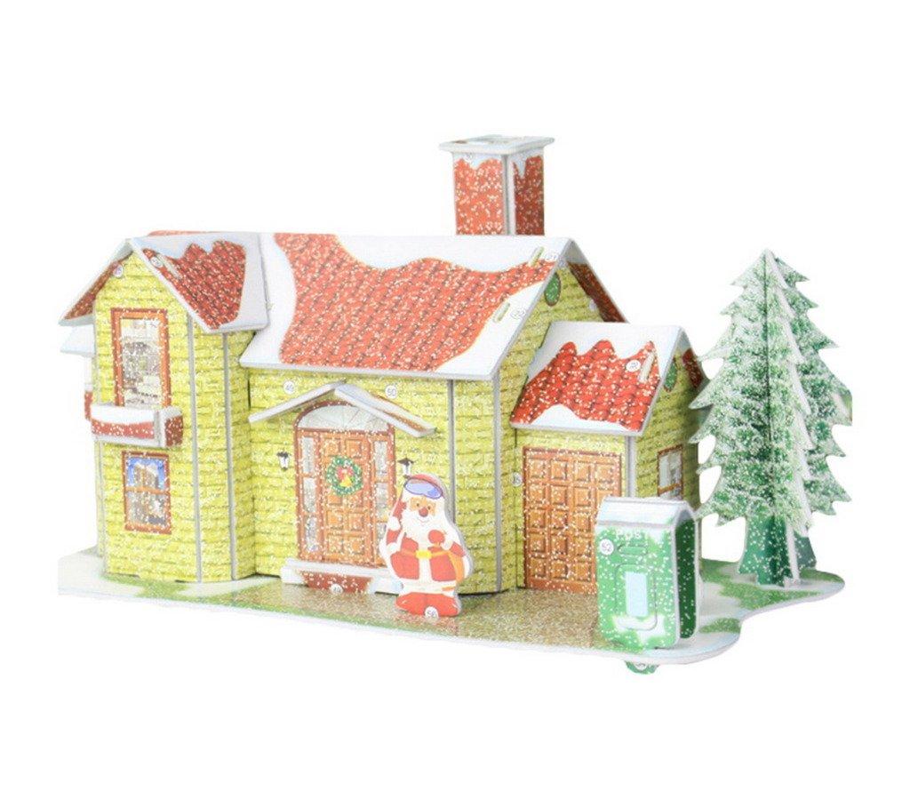 手数料安い comvipクリスマスショッピングモールデコレーション3dパズルジグソー漫画家イエロー B0772DMHDY B0772DMHDY, Epoca select shop:d8d4a3d4 --- a0267596.xsph.ru