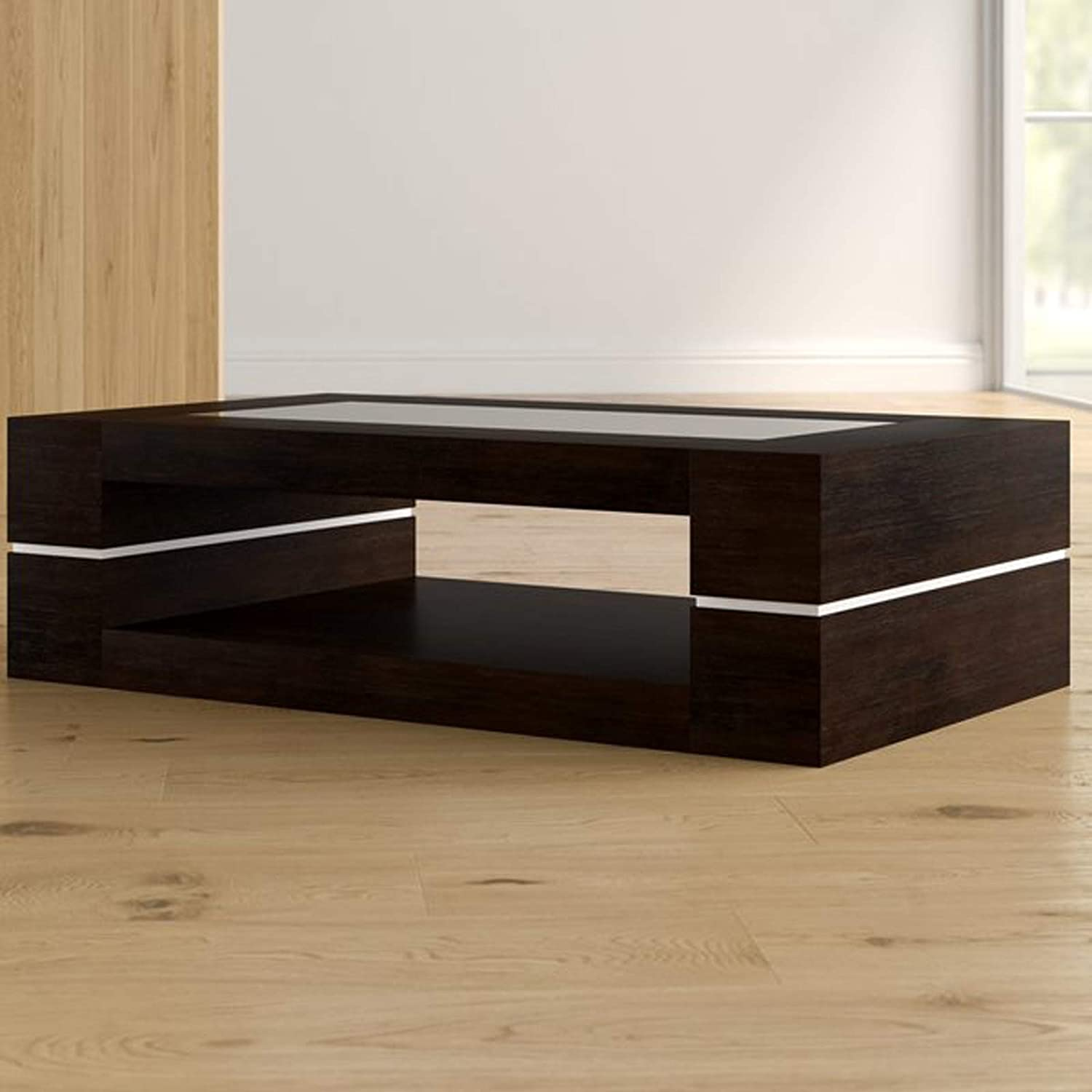 Amazon Modern Coffee Table Contemporary Cocktail Table with