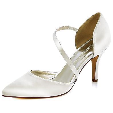 Chaussures à bout pointu Elegantpark bleues femme IkuajZ7E
