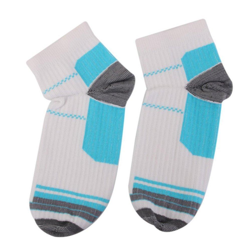 Westeng 1 Paar Niedriger Schnitt Fußkompression Socken für Plantar Fasciitis Fersensporn Schmerzlinderung Weiß NLK153700Z6DP598