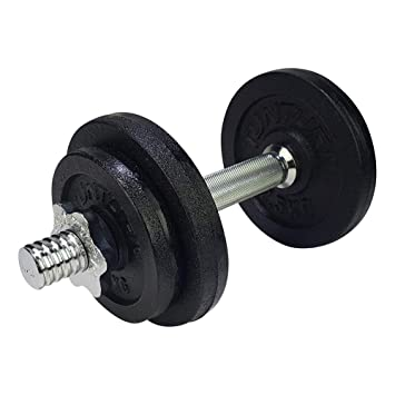 Tunturi Weight Set Mancuernas con 1 Barra Ajustable, Unisex Adulto, Negro, 10 kg: Amazon.es: Deportes y aire libre