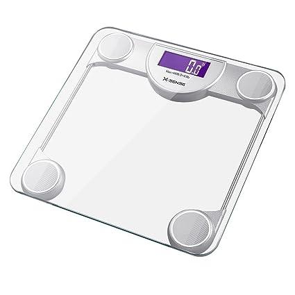 X-Sense Báscula Digital de Baño de Alta Medición Precisa 200kg / 400lb con 30