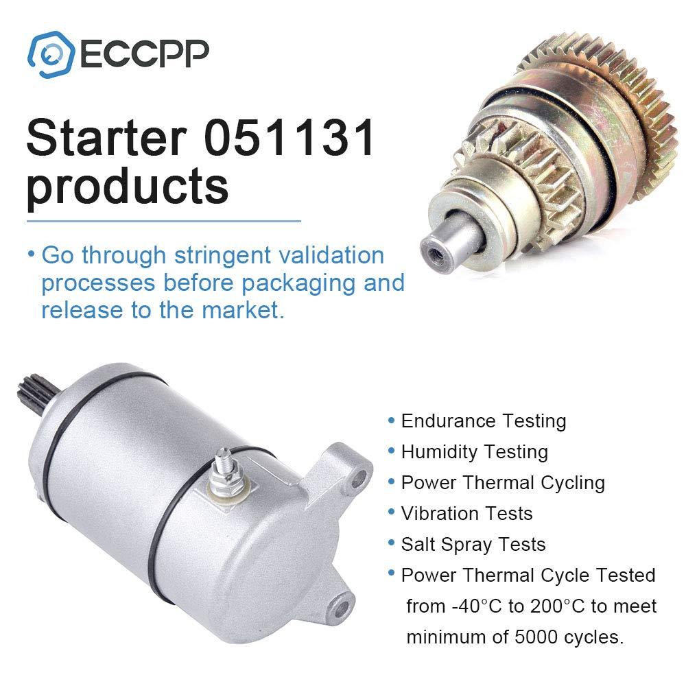 Starters ECCPP fit for Polarisatv ATP 500 HO 330 4x4 2005-2004 329cc ATV Pro 500 4x4 PPS 2002 499cc Hawkeye 400 HO 2011 455cc Magnum 4X4 Norweigen//Swedish 1995-1998 425cc 3087030