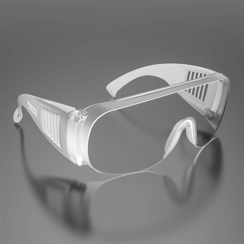 1PCS Gafas Protectoras - Gafas de Seguridad Bloquear Viento y Arena, Polvo, Rayos Uva y Gotas o Salpicaduras,para Laboratorio,Agricultura,Industria,Protección Personal