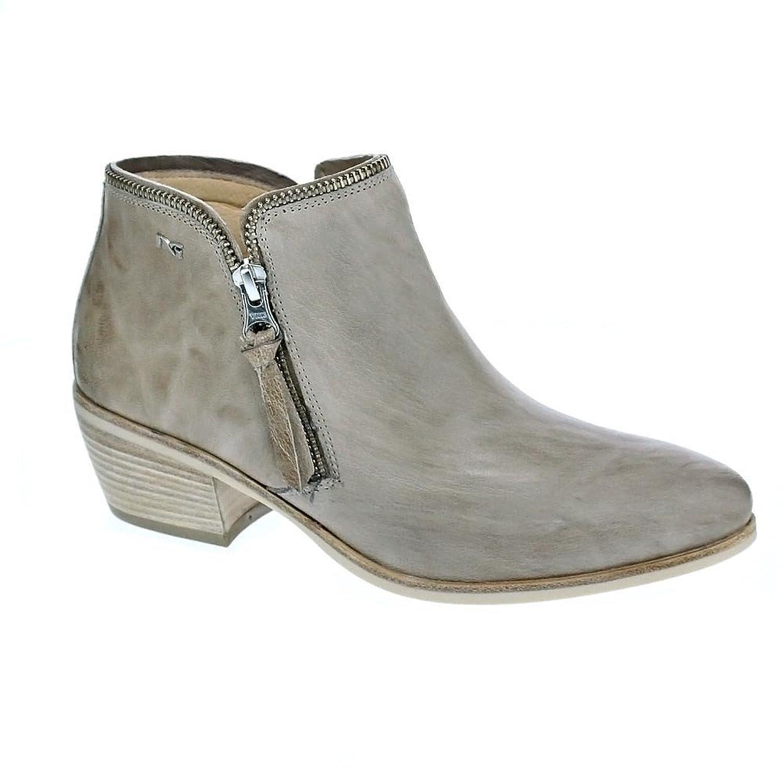 Nero Giardini scarpe donna stivaletti con tacco A719741DE 100 NERO ... 7038947482c