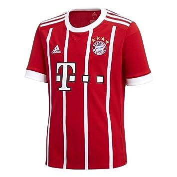 best loved 36a14 3b7ad adidas FC Bayern Munich Home Soccer Stadium Jersey (Red/White)
