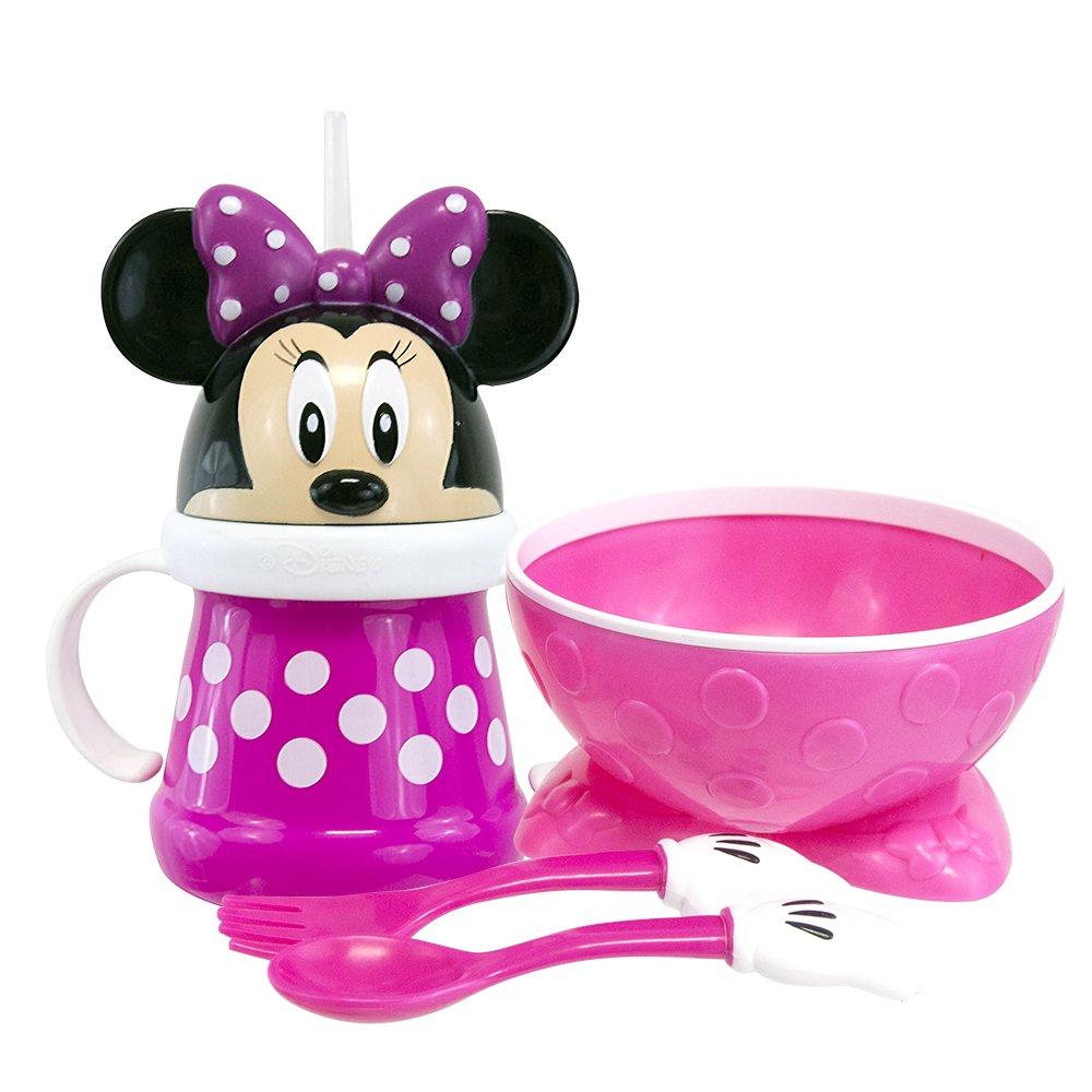 Sassy 33106 Disney Minnie Mouse Feeding Gift Set