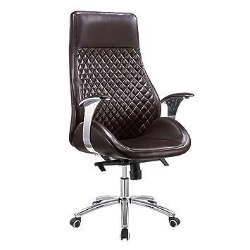 ADHKCF Silla giratoria de escritorio, silla de oficina multifuncional con ...