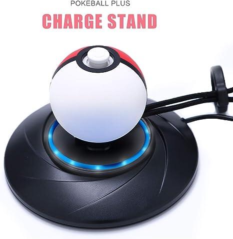 Amazon.com: Cargador soporte para Poke Ball Plus, cargador ...