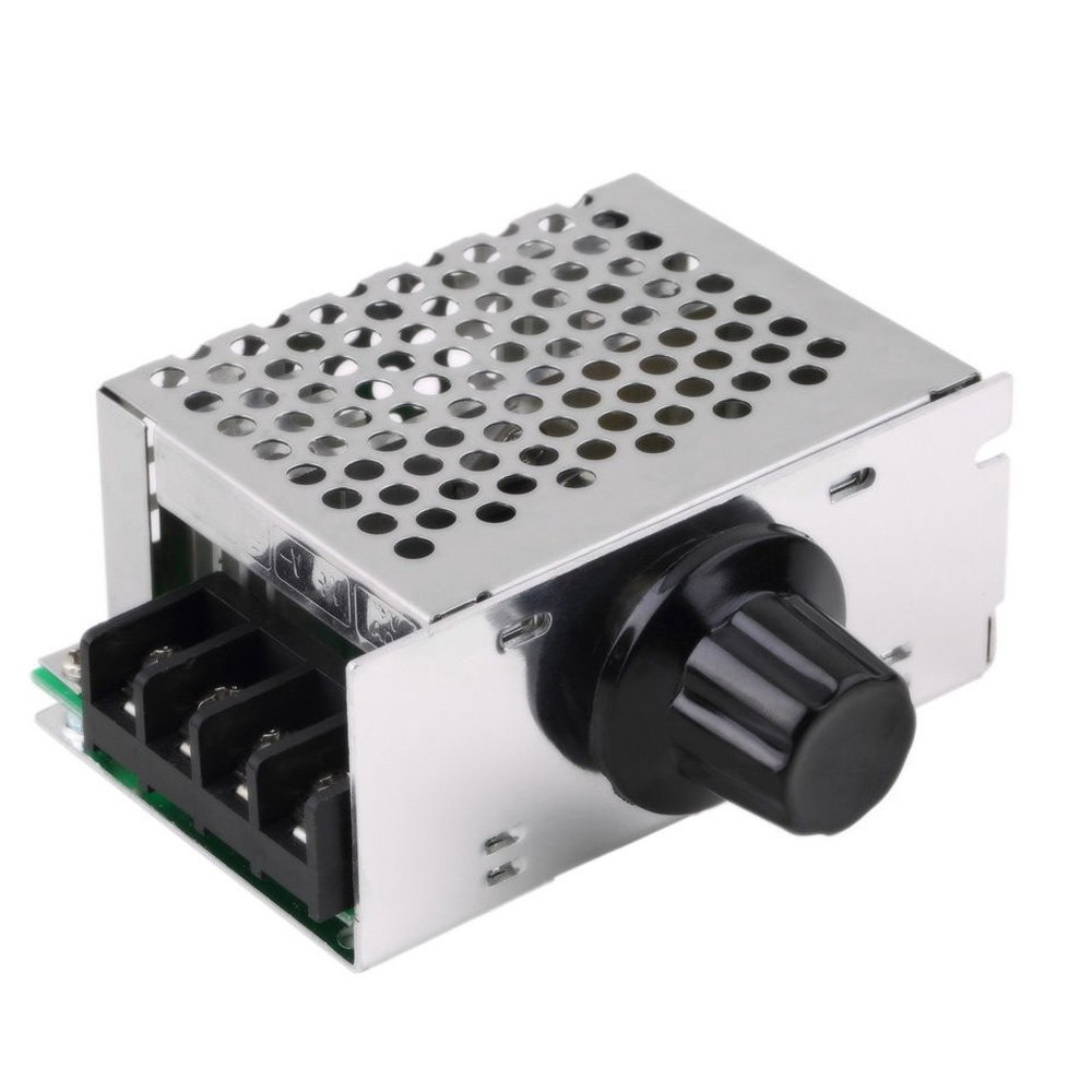 Solu 4000W 220V SCR Voltage Regulator Motor Speed Controller Dimming ...