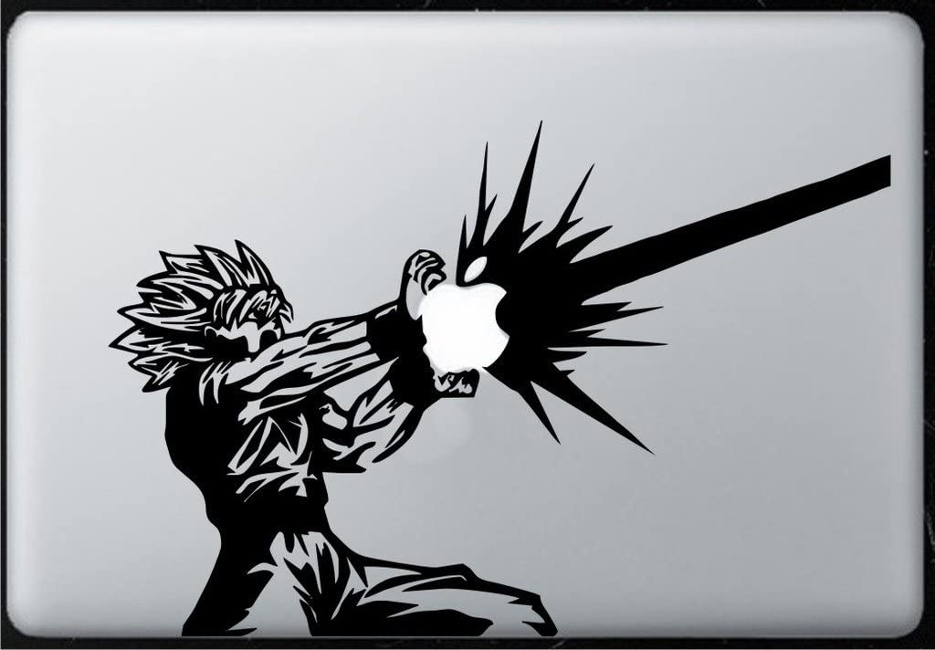 Goku V2 Lighting - Decal Sticker for MacBook, Air, Pro All Models