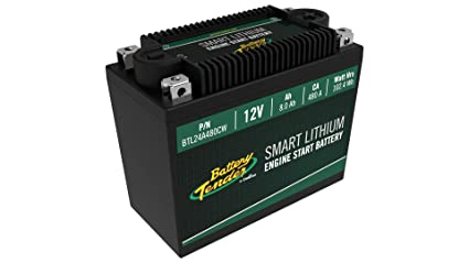 Amazon.com: Supersmart BMS Lithium Battery, 12V 8.0AH, 480CCA: Automotive