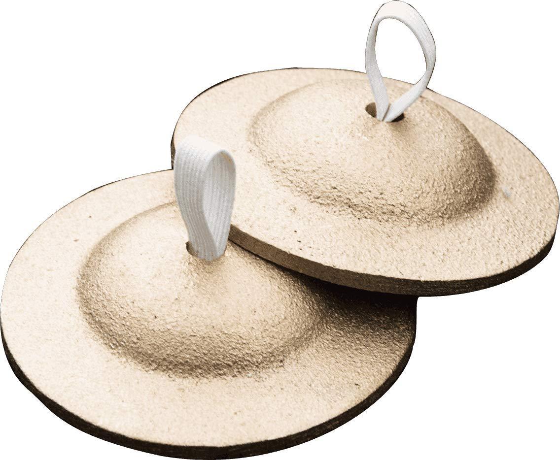 Zildjian Thick Finger Cymbals, Pair by Avedis Zildjian Company