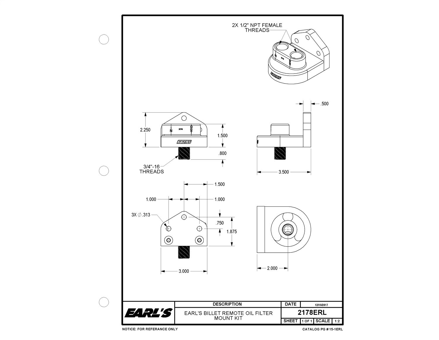 Best Rated In Automotive Performance Engine Coolers Accessories Boss Hoss Trike Wiring Diagram Earls 2178erl Billet Remote Oil Filter Mount Kit 75121r Product Image