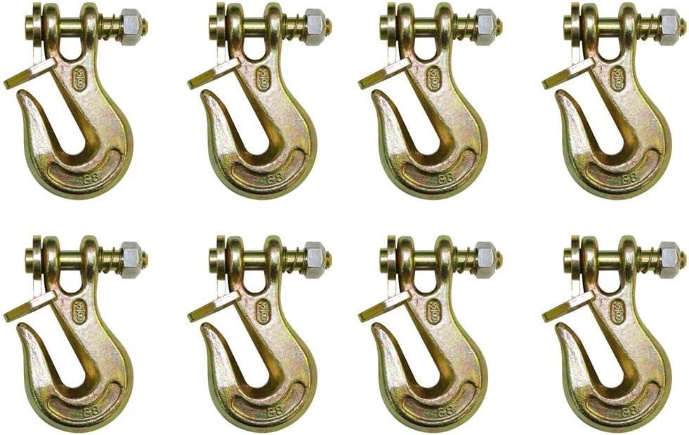 4 Height WLL 6,600 lb 17 Length B//A Products G7-3810TL Twist Lock Grabs 3//8 Grade 70 Chain x 10 6.75 Width