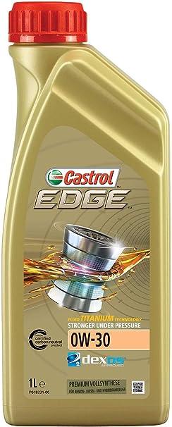 Castrol Edge Engine Oil 0w 30 1l German Label Auto
