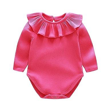 Silverone Conjunto De Bebé Niña De Las Mamelucos del Invierno Mono De Princesa del Collar De