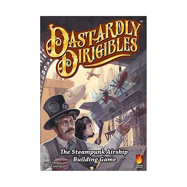Fireside Games Dastardly Dirigibles Board Game - Board Games for Families - Board Games for Adults 5