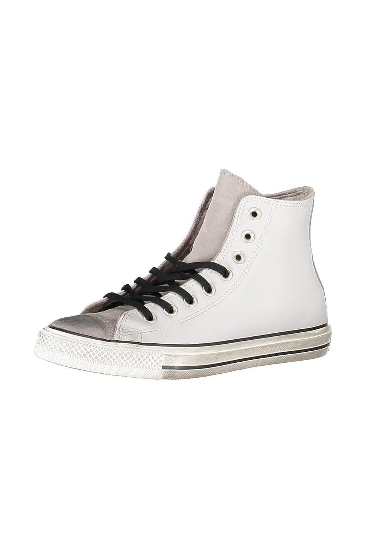 CONVERSE Chuck Taylor All Star Distressed Hi sneakers alte camoscio lacci  PELLE PALE PUTTY GRIGIO 158965C inverno 2018  Amazon.it  Scarpe e borse 0229da2860d