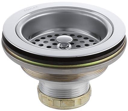 Delicieux KOHLER K 8799 CP Duostrainer Sink Strainer, Polished Chrome