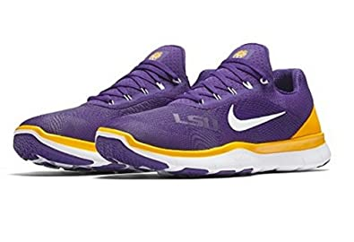 NIKE Men's LSU Tigers Free Trainer V7 SG Collection College Shoes Size 8.5