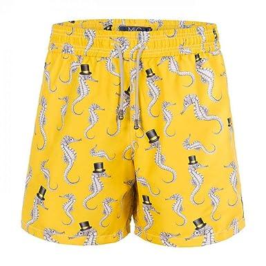 Shorts Mic Fun Cavalheiro Marinho Amarelo - P  Amazon.com.br  Amazon ... 49ba4872d91aa