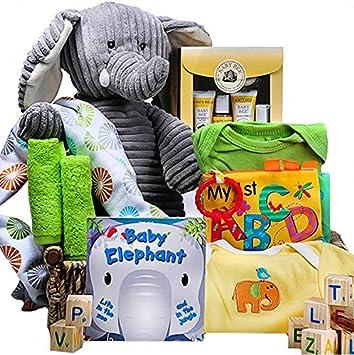 Amazon baby ellie the elephant gift basket grocery baby ellie the elephant gift basket negle Images